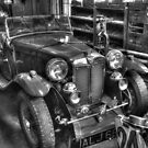 Vintage MG (HDR) by Stephen Knowles