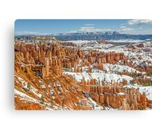Hoodoos at Sunset Point in Bryce Canyon National Park Canvas Print