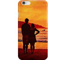 Together at Sunset iPhone Case/Skin