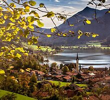 Autumn in Schliersee by Boston Thek Imagery
