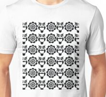 owl and flower Unisex T-Shirt