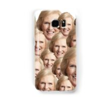 Mary Berry Print  Samsung Galaxy Case/Skin