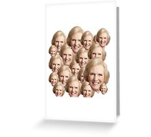 Mary Berry Print  Greeting Card
