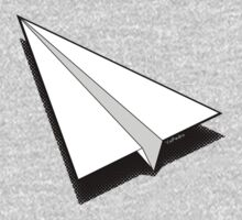 Paper Airplane 1 One Piece - Long Sleeve