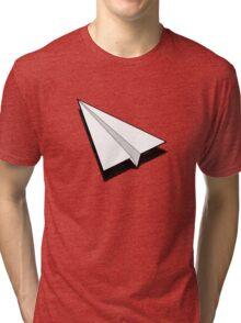 Paper Airplane 1 Tri-blend T-Shirt