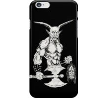 Goat Lord iPhone Case/Skin