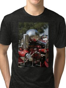 Old Fire Truck Tri-blend T-Shirt