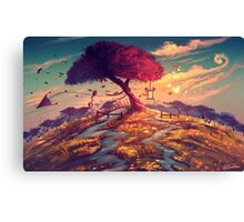 Sakura Tree Canvas Print