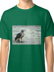 Red Tailed Hawk Catch Classic T-Shirt