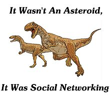 Social Networking: The Real Cause Of Dinosaur Extinction by geeknirvana
