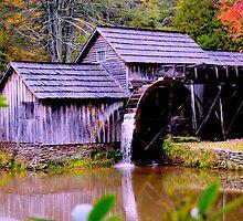 Mabry Mill by Garrett Whitlock