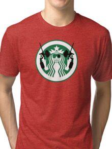 Starbucks Paintball Emblem Tri-blend T-Shirt