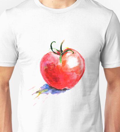 watercolor tomato Unisex T-Shirt