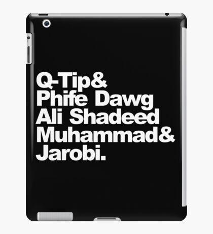 dawg quest  iPad Case/Skin