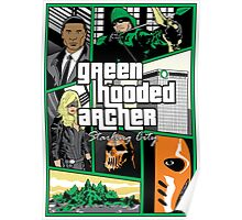 Green Hooded Archer Poster