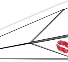 Paper Airplane 8 Sticker