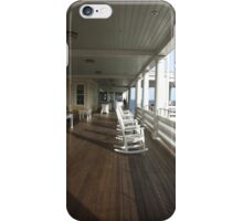 ocean house porch 2011 iPhone Case/Skin