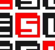 pixel gamer retro 8 bit muster kreuz christ logo design cool text schriftzug jesus christus  Sticker
