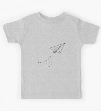 Paper Airplane 9 Kids Tee