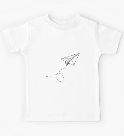 Paper Airplane 9 Kids Tee