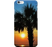 Palm Tree Sunrise Silhouette iPhone Case/Skin
