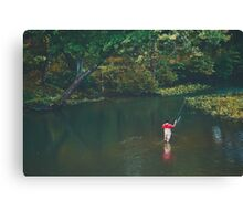 Fly James River Canvas Print