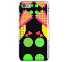 Neon New Wave Design iPhone Case/Skin
