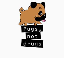 Little Pugs Not Drugs Unisex T-Shirt