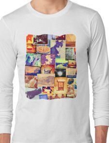 Fun Photo Collage Long Sleeve T-Shirt
