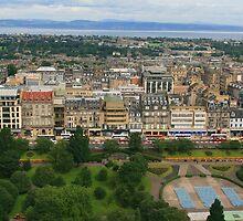 City Of Edinburgh by RedHillDigital