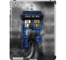 Mysterious Time traveller with Black suit iPad Case/Skin