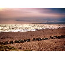 Dusk by the Sea Photographic Print