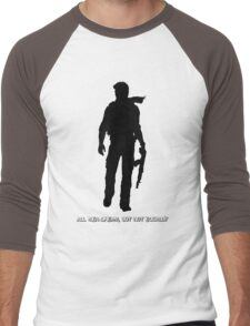 Nathan Drake (Uncharted, quote) Men's Baseball ¾ T-Shirt