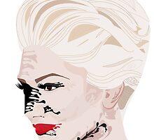 Melted Gwen Stefani by Kenzielupin