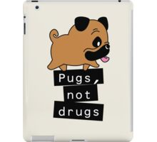 Little Pugs Not Drugs iPad Case/Skin