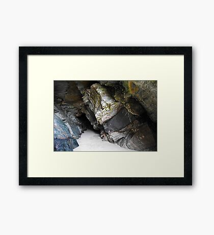 Caves of Maghera - County Donegal, Ireland #1 Framed Print