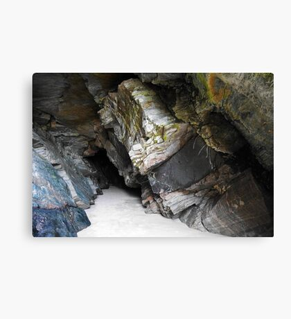Caves of Maghera - County Donegal, Ireland #1 Canvas Print
