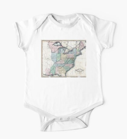 United States of America - W. & D. Lizars - 1818 One Piece - Short Sleeve