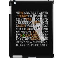 happy HOLLOWeen iPad Case/Skin