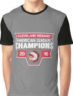 Cleveland Indians Champions World Series 2016 Graphic T-Shirt