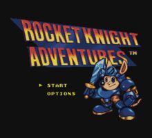 Rocket knight Adventures (Snes) Title Screen by AvalancheJared