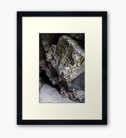 Caves of Maghera - County Donegal, Ireland #3 Framed Print