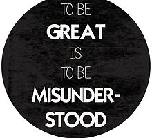Misunderstood - T-shirt by royalbaum