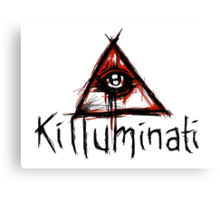 Killuminati Canvas Print