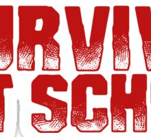 I Survived Art School Sticker