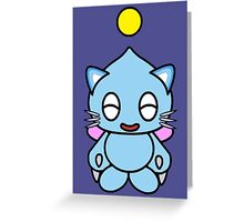Kitty Chao! =^.^= Greeting Card
