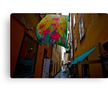 Stockholm - Gamla Stan. Sweden. by Doctor Andrzej Goszcz. Has been sold ! Sales: 2. Views: 1209 .  Canvas Print