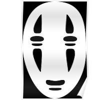 No Face Cutout Poster