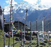 Langtang Village, Nepal by Jan Vinclair