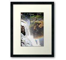 Patterson Falls Framed Print